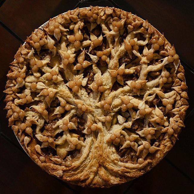Apple Pie Crushed Pecans Salted Caramel Čik me probaj: Najbolja gotik hrana na Instagramu