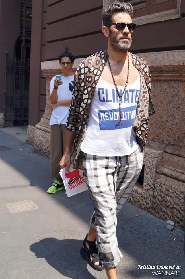 DSC08963 copy Street Style Milan Fashion Week: Trendovi pre svega