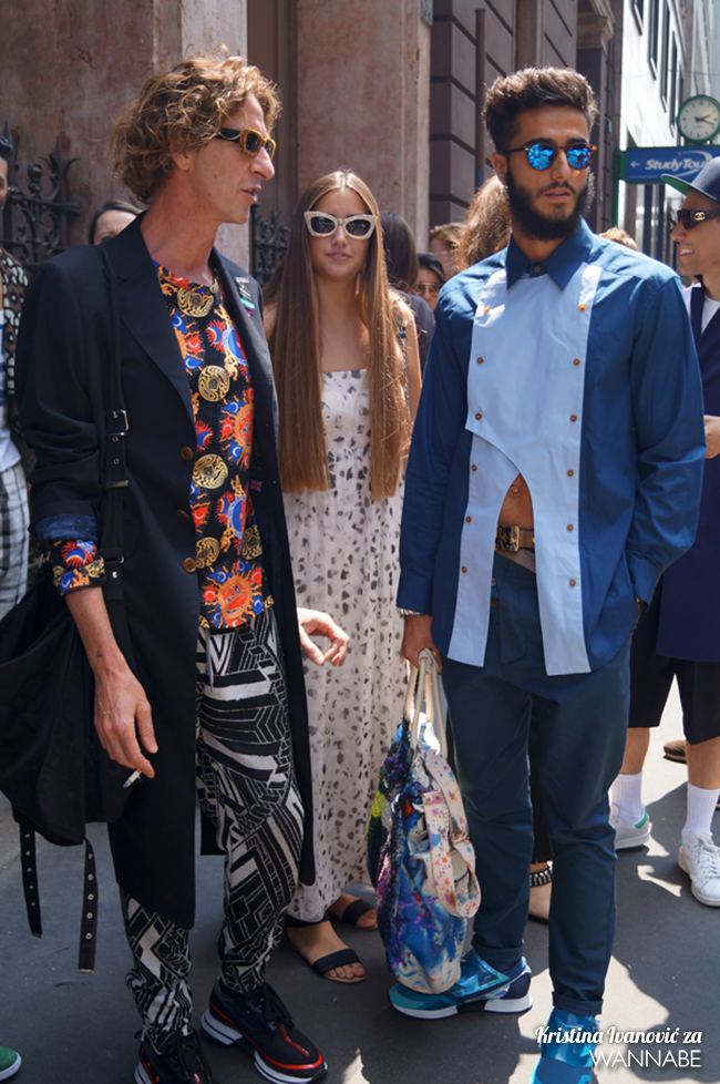 DSC09022 copy Street Style Milan Fashion Week: Trendovi pre svega