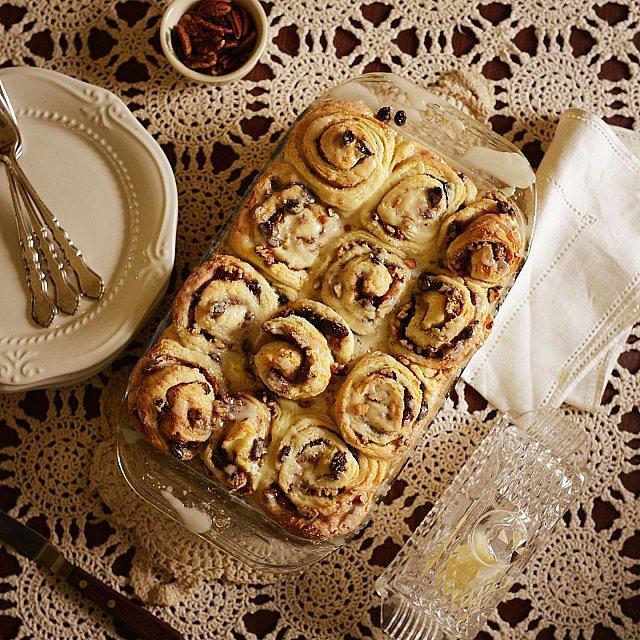 Die Cinnamon Rolls Čik me probaj: Najbolja gotik hrana na Instagramu