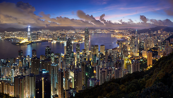 Hong Kong the Peak 16 image high res pano Male stvari: Deo koji nedostaje