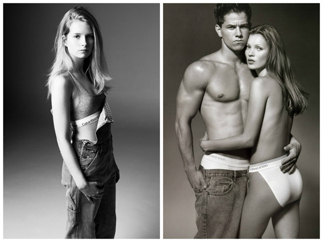 Kate Moss Sister  Lottie Moss  In Calvin Klein Campaign Underwear For Collection With My Theresa.co .uk 1 Modne vesti: Glamurozna Blejk Lajvli, Loti Mos, Antonina Petković