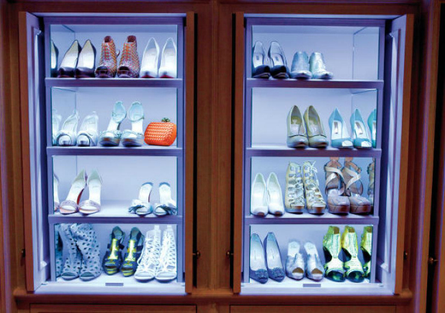 Lila Tips of the Week: Gde god nađeš zgodno mesto tu cipele stavi