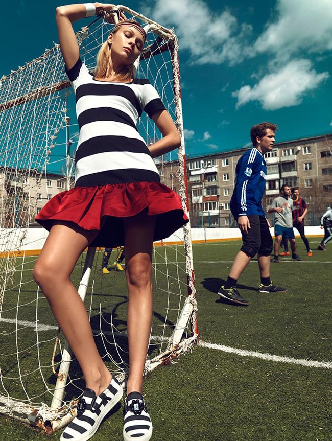 Lis Inger Sport i moda: Najbolje fotografije iz editorijala
