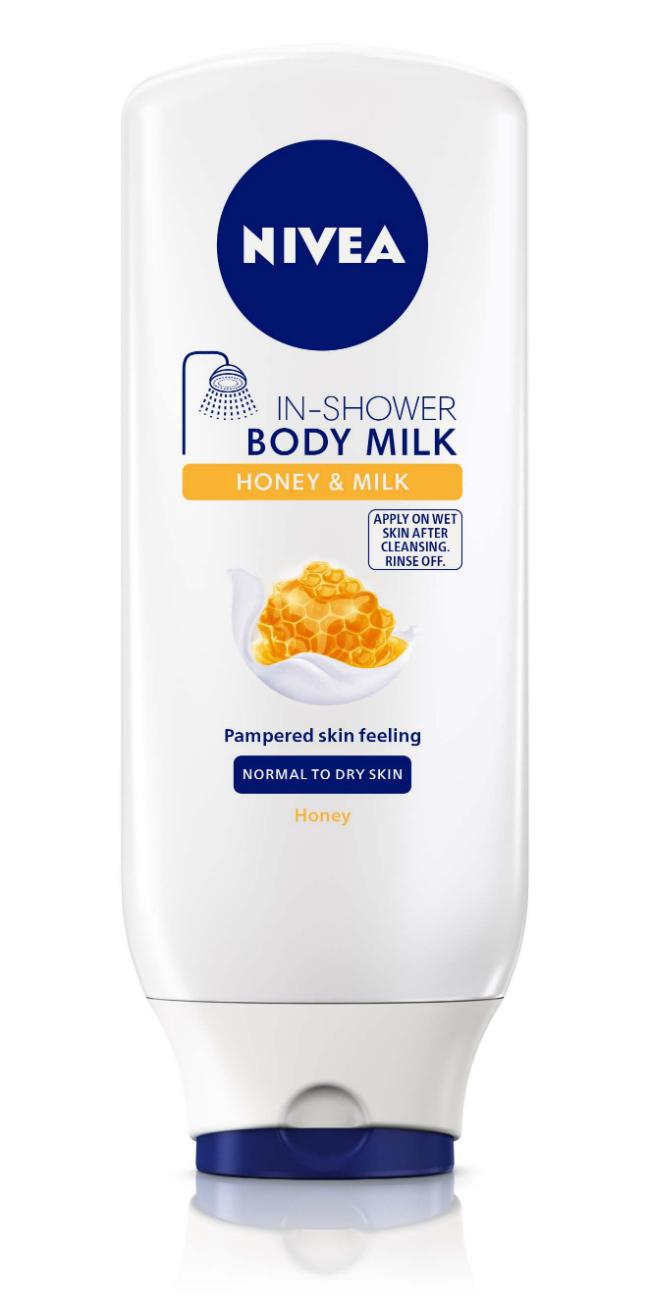 NIVEA IN SHOWER Honey Milk Body Milk Letnja nega: Inovativan način nege kože za savremenu ženu