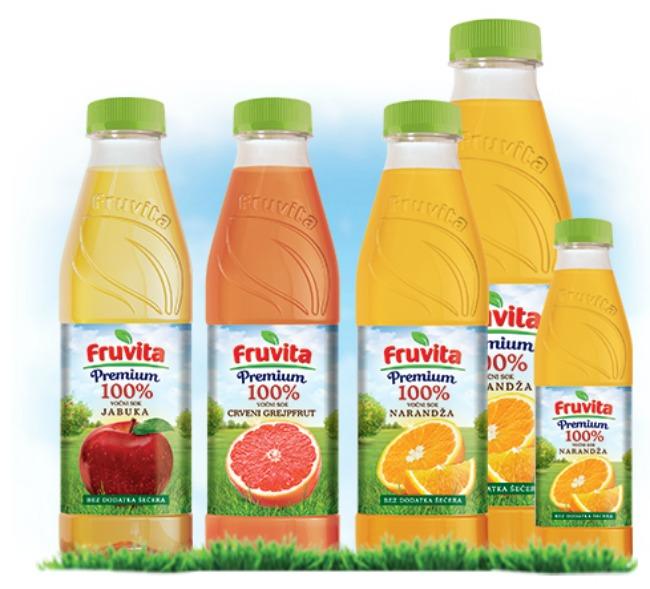 Premium Voćni sokovi Fruvita Super Premium