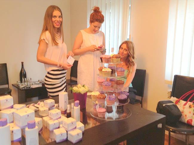 Purple Rain5 Promocija Purple Rain kozmetike: Koktel veče sa blogerkama