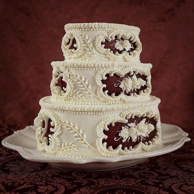 Red Velvet Wedding Cake Čik me probaj: Najbolja gotik hrana na Instagramu