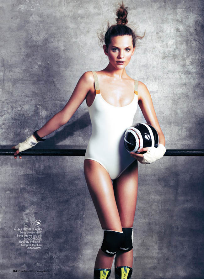 Regina Feoktisova Sport i moda: Najbolje fotografije iz editorijala