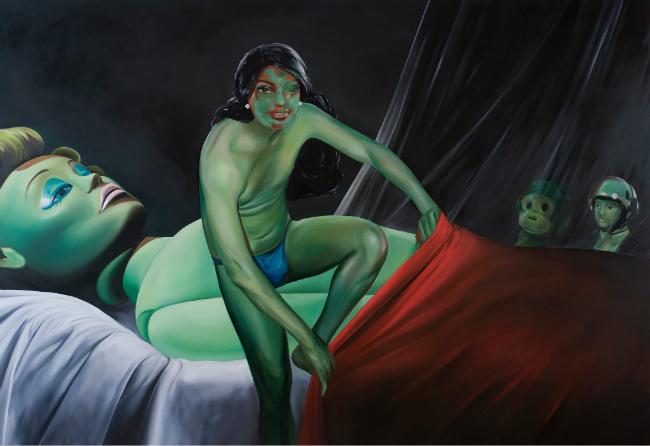 Slika 5 Moždani orgazam: Oda Žon