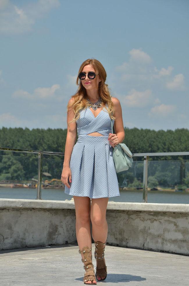 Stasha Fashion Sta nose domace blogerke Domaće modne blogerke nose: Letnje haljinice