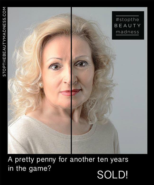 Stop Beauty Madness 3 Šokantno: Ova kampanja će promeniti način na koji vidite svoj odraz u ogledalu