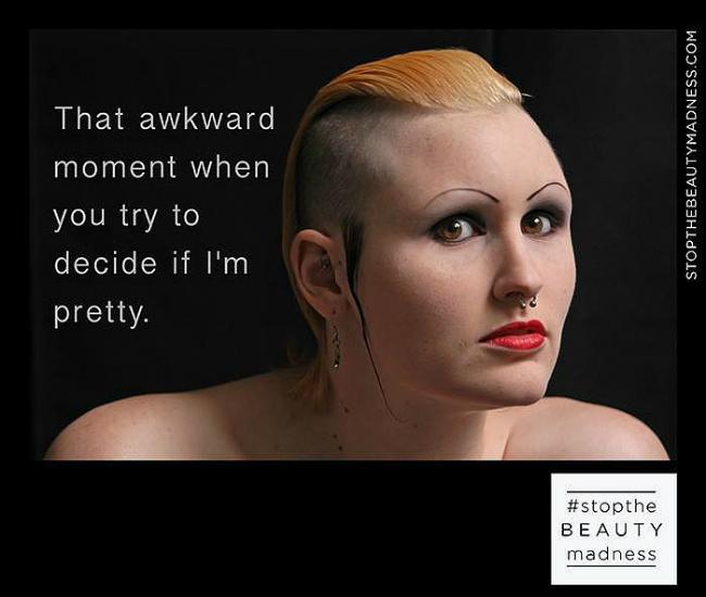 Stop Beauty Madness 8 Šokantno: Ova kampanja će promeniti način na koji vidite svoj odraz u ogledalu