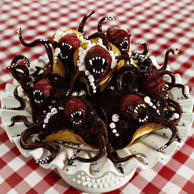 Strawberry Chocolate Monsters Čik me probaj: Najbolja gotik hrana na Instagramu