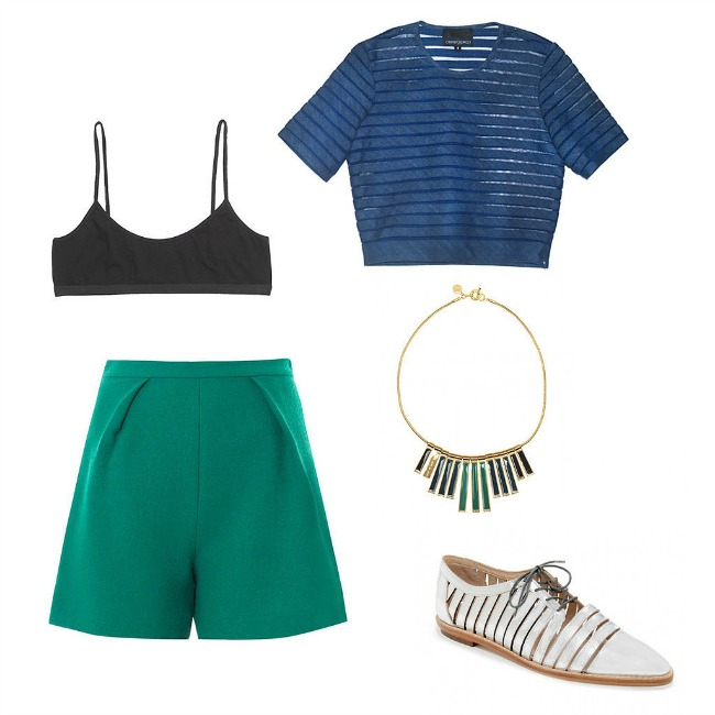 Tailored Shorts Crop top manija: Pet razloga da se obučete smelo ove nedelje