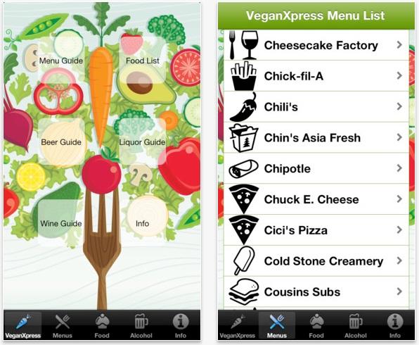 Vegan Xpress App Vegani, samo za vas: Aplikacije za telefon koje ćete voleti
