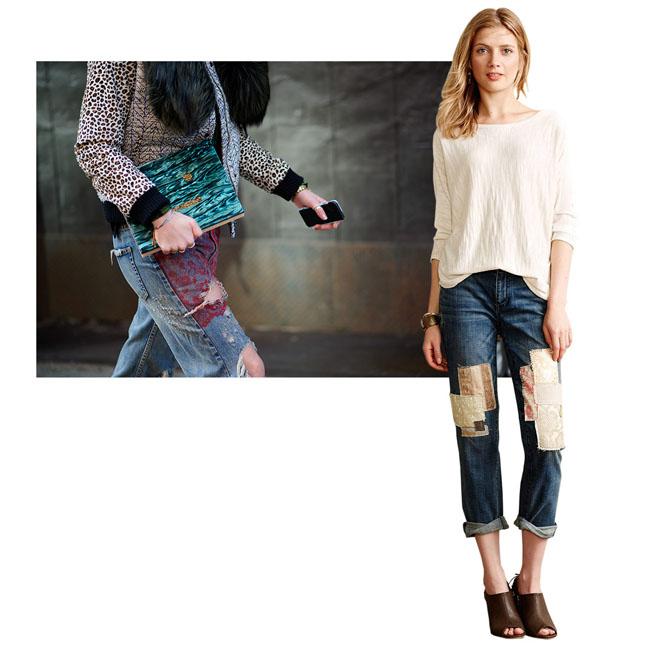 Zakrpljene farmerke2 Copy Moderne i u trendu: Pet načina kako da nosite zakrpljene farmerke