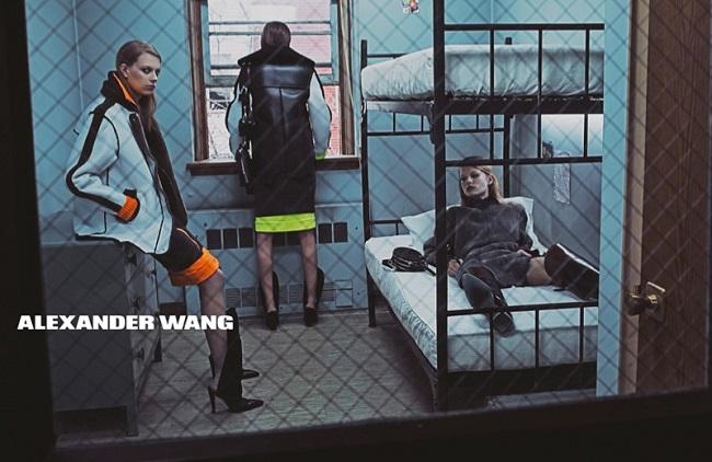 alexander wang 2014 fall winter campaign3 Modne vesti: Kara Delevinj, Kejt Apton i Aleksandar Vang