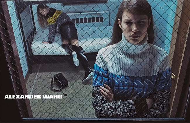 alexander wang 2014 fall winter campaign4 Modne vesti: Kara Delevinj, Kejt Apton i Aleksandar Vang