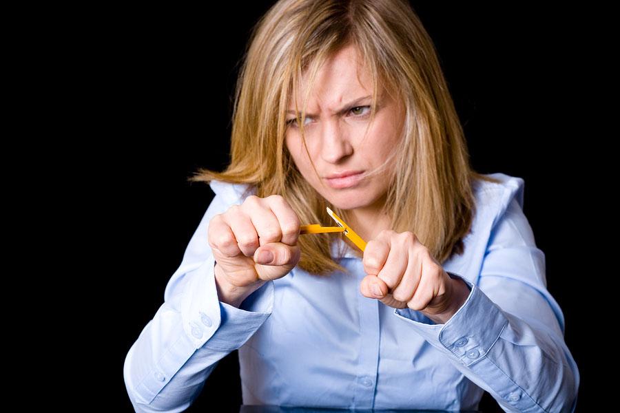 bigstock angry and stressed blonde busi 26164799 Društvene igre: Čoveče, ne vređaj se