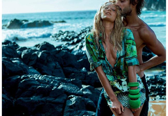 candice swanepoel osmoze jean 2015 spring campaign photos2 Modne vesti: Lupita Niongo, seksi Kendis i Dolce&Gabbana