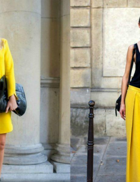 Leto i moda: Žuta je u trendu