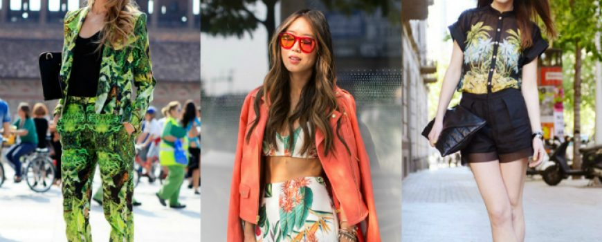 Street Style: 10 načina da nosite tropske dezene!