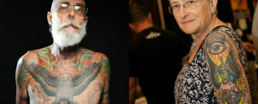 Otkačen svet: Bake i deke sa tetovažama