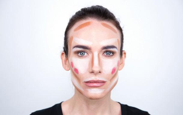 conmtour 1 z Našminkaj se kao profesionalac: Kako da konturišete lice