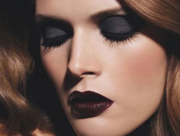 fall makeup trends 618x466 Beauty trend: Braon karmin