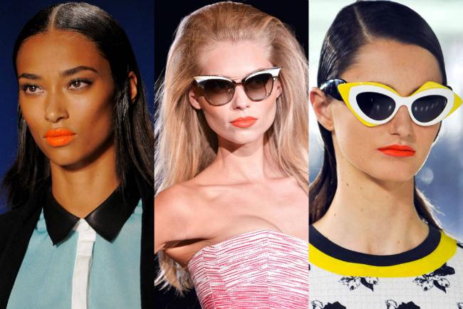hbz ss2014 bty trends orange lips lg Ne zaboravite: Šest letnjih beauty trendova