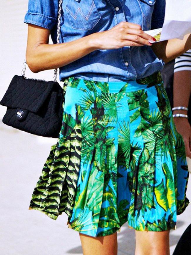 main6 Street Style: 10 načina da nosite tropske dezene!