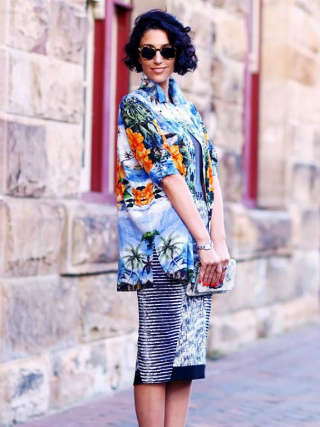 mainyyyyyyy Street Style: 10 načina da nosite tropske dezene!