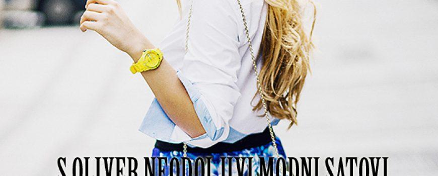 Wannabe Shop: S.OLIVER neodoljivi modni satovi