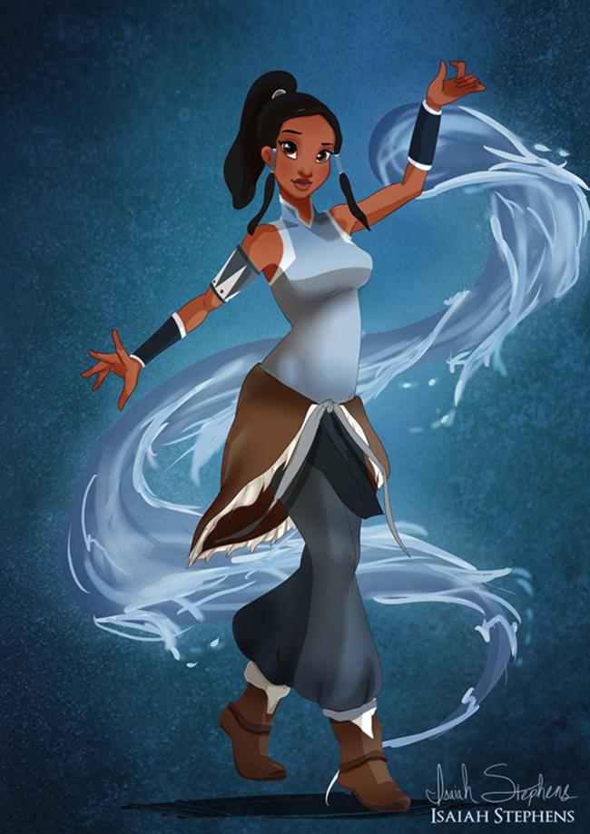 tiana Emancipacija žena zakoračila i u svet bajki: Diznijeve princeze kao Super Heroine