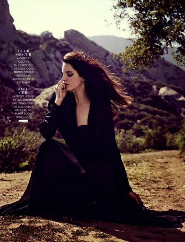 tttt Letnji modni editorijali: Lana del Rej za magazin Madame Figaro