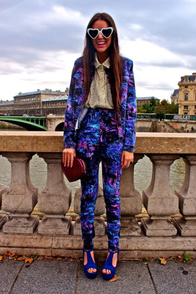 tumblr mcdb87B0BG1qg4nwmo1 500 Street Style: 10 načina da nosite tropske dezene!