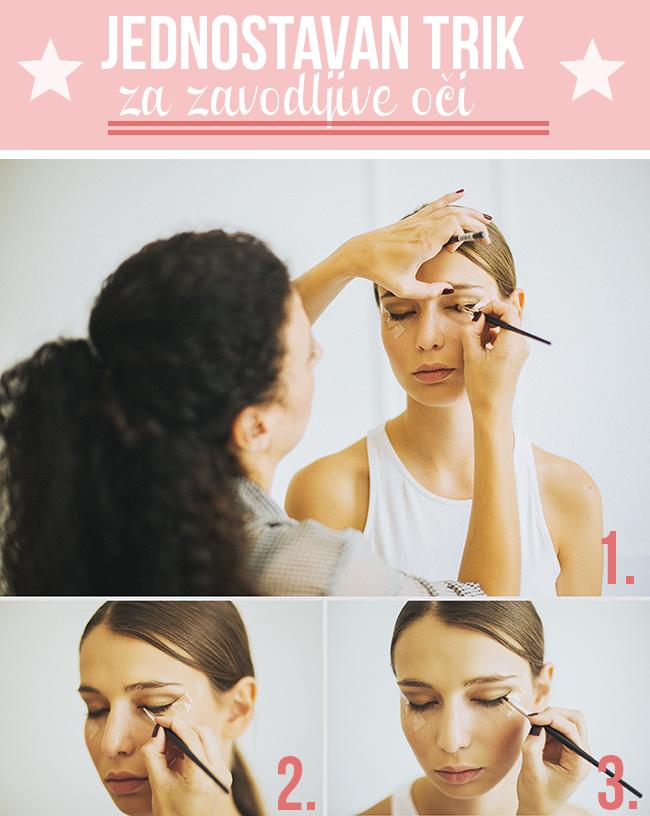 tutorijal wannabe Beauty savet: Jednostavan trik za zavodljive oči