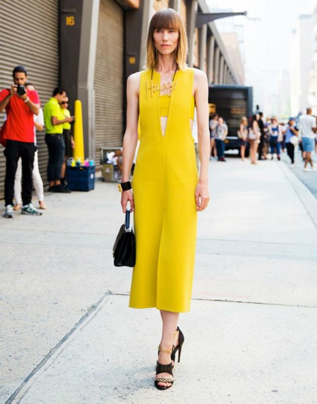 zuta modni trend3 Leto i moda: Žuta je u trendu