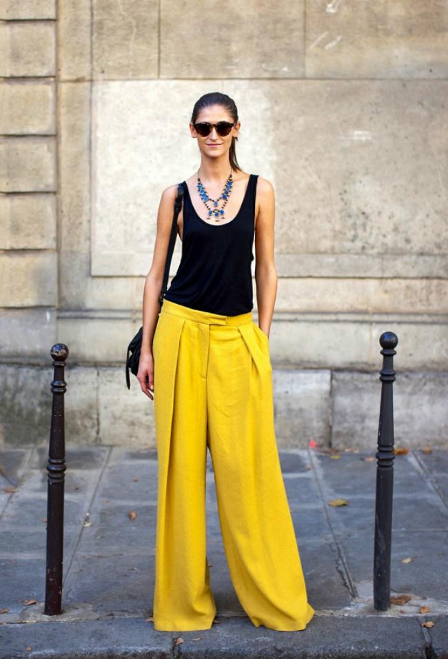 zuta modni trend4 Leto i moda: Žuta je u trendu