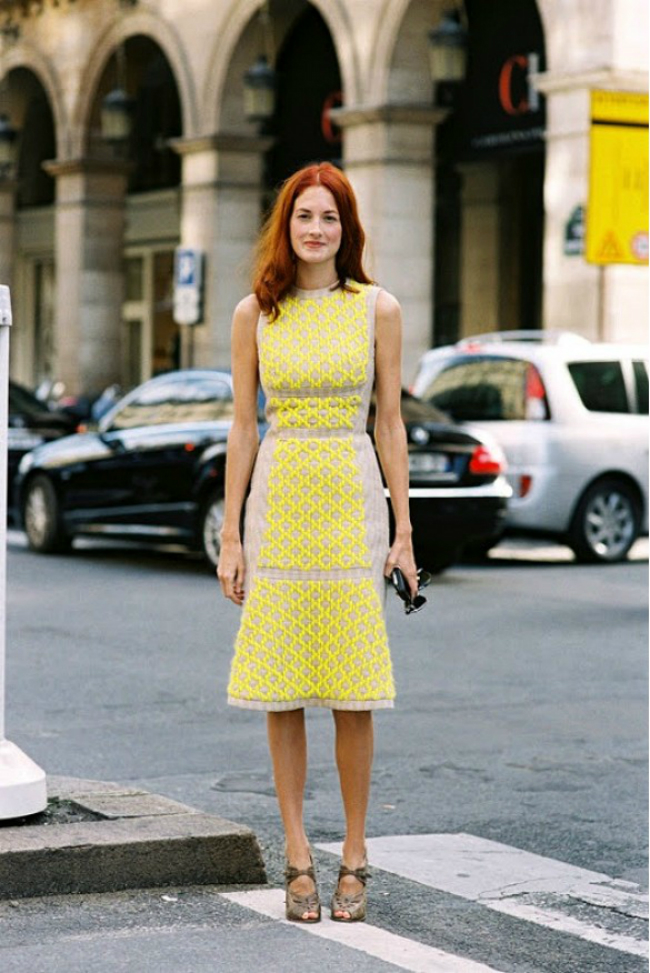 zuta modni trend5 Leto i moda: Žuta je u trendu