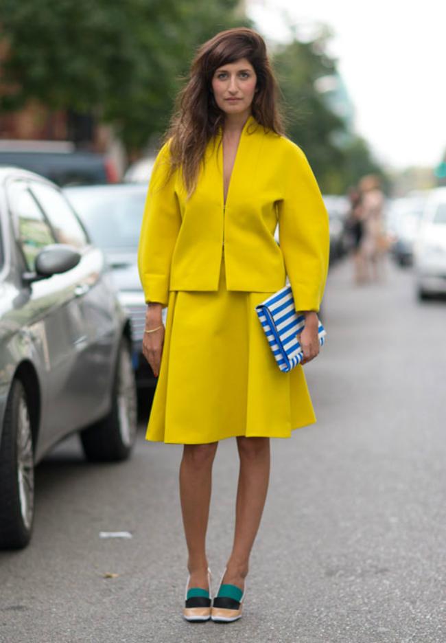 zuta modni trend7 Leto i moda: Žuta je u trendu