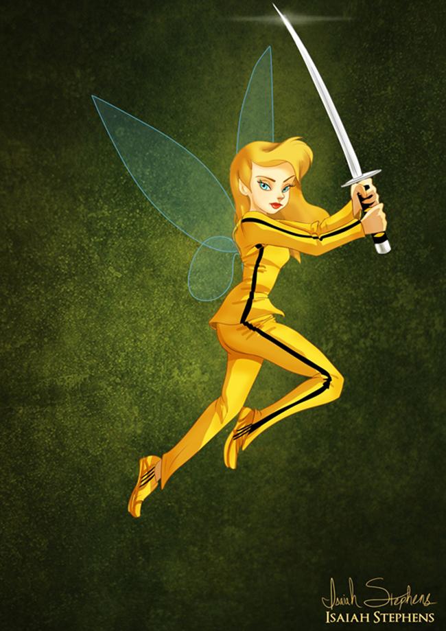 zvoncica Emancipacija žena zakoračila i u svet bajki: Diznijeve princeze kao Super Heroine
