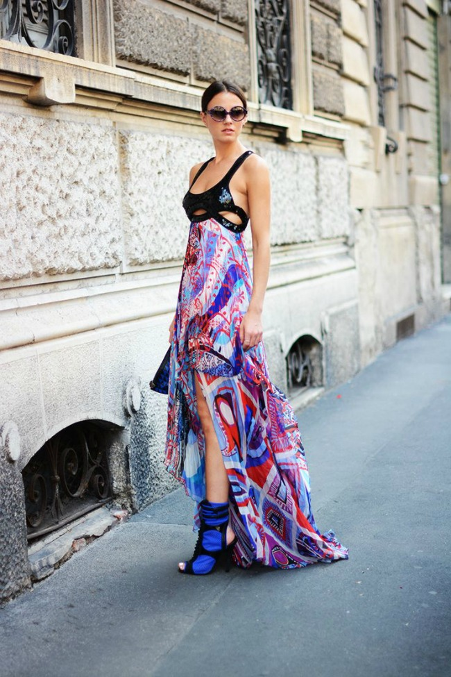 10 odevnih kombinacija zina carkoplija haljina emilio pucci 10 odevnih kombinacija: Zina Čarkoplija