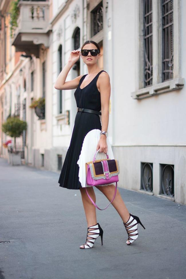 10 odevnih kombinacija zina carkoplija haljina proenza schouler 10 odevnih kombinacija: Zina Čarkoplija
