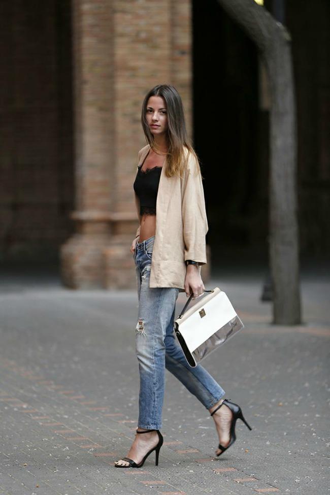 10 odevnih kombinacija zina carkoplija pepe jeans 10 odevnih kombinacija: Zina Čarkoplija