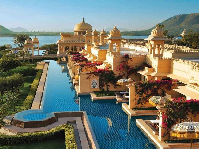 10 The Oberoi Udaivilas Put oko sveta: Najlepši bazeni koje morate posetiti