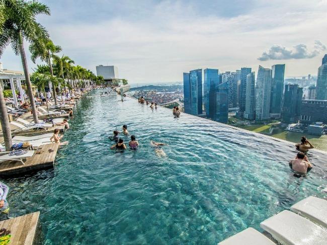 1 Marina Bay Sands Hotel Singapore Put oko sveta: Najlepši bazeni koje morate posetiti