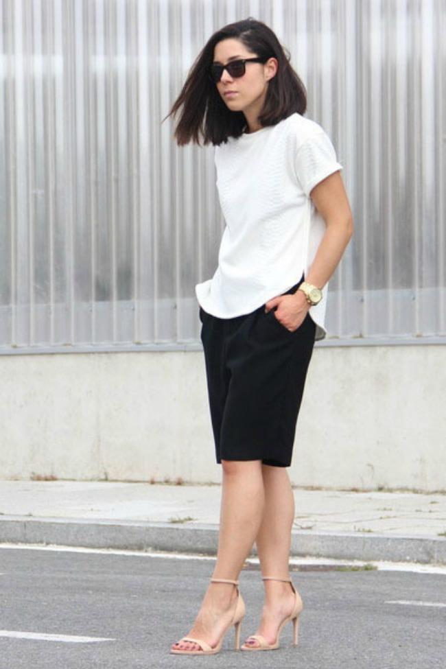1 Romalo Modne blogerke nose: Šortseve različitih dužina
