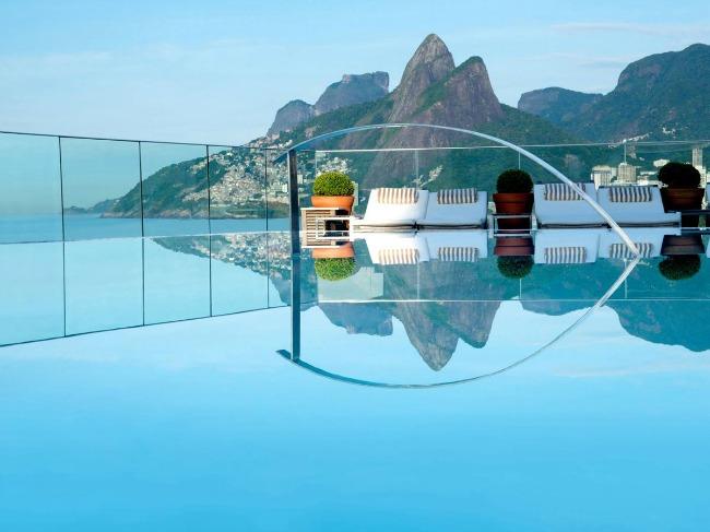 2 Hotel Fasano Rio de Janeiro Put oko sveta: Najlepši bazeni koje morate posetiti